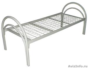 кровати армейские, кровати для лагеря, кровати металлические для гостиницы - Изображение #4, Объявление #902889