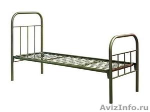 кровати армейские, кровати для лагеря, кровати металлические для гостиницы - Изображение #6, Объявление #902889