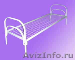кровати армейские, кровати для лагеря, кровати металлические для гостиницы - Изображение #3, Объявление #902889