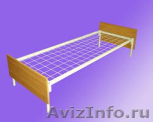 кровати армейские, кровати для лагеря, кровати металлические для гостиницы - Изображение #2, Объявление #902889