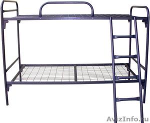кровати армейские, кровати для лагеря, кровати металлические для гостиницы - Изображение #7, Объявление #902889