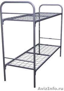 Трёхъярусные металлические кровати для общежитий, кровати металлические дёшево - Изображение #4, Объявление #1478855