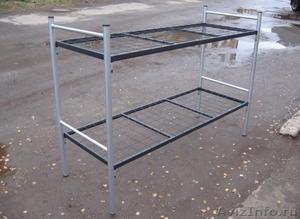 Трёхъярусные металлические кровати для общежитий, кровати металлические дёшево - Изображение #8, Объявление #1478855