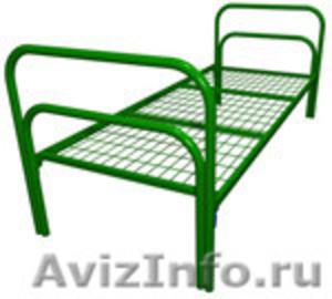 Трёхъярусные металлические кровати для общежитий, кровати металлические дёшево - Изображение #2, Объявление #1478855