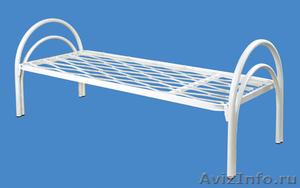 Металлические кровати для бытовок, кровати для вагончиков, кровати для рабочих. - Изображение #1, Объявление #1480281