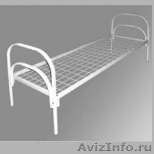 Трёхъярусные металлические кровати для общежитий, кровати металлические дёшево - Изображение #6, Объявление #1478855