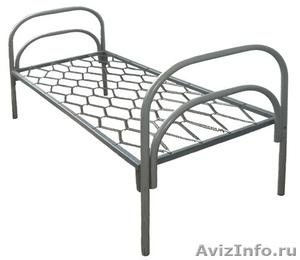 Трёхъярусные металлические кровати для общежитий, кровати металлические дёшево - Изображение #5, Объявление #1478855