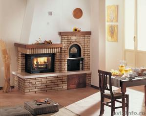 Варочная дровяная печь с духовкой Roby 40x60 (Италия). - Изображение #1, Объявление #1539211