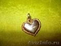 Подвеска-серце серебро Carlos Albert,  новая
