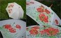 Зонт трость с росписью