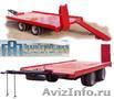 Производство прицепов для перевозки техники от 4 до 30 тонн