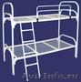 кровати двухъярусные, одноярусные со спинками дсп, для строителей  - Изображение #2, Объявление #689436