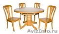 Деревянные столы и стулья из Китая и Малайзии