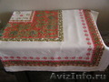 Скатерти льняные с ярким орнаментом 2 шт - Изображение #2, Объявление #1570968