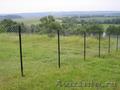 Забор из сетки рабицы от 240 руб
