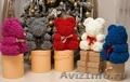 Лучший подарок- «мишки из роз ручной работы»