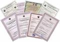 Сертификация,  декларирование,  отказные письма